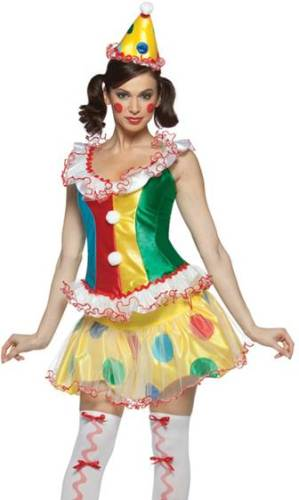 RUFFLES THE PARTY CLOWN  sc 1 st  Crazy For Costumes & All u003e Women u003e Clowns u0026 Circus - Crazy For Costumes/La Casa De Los ...