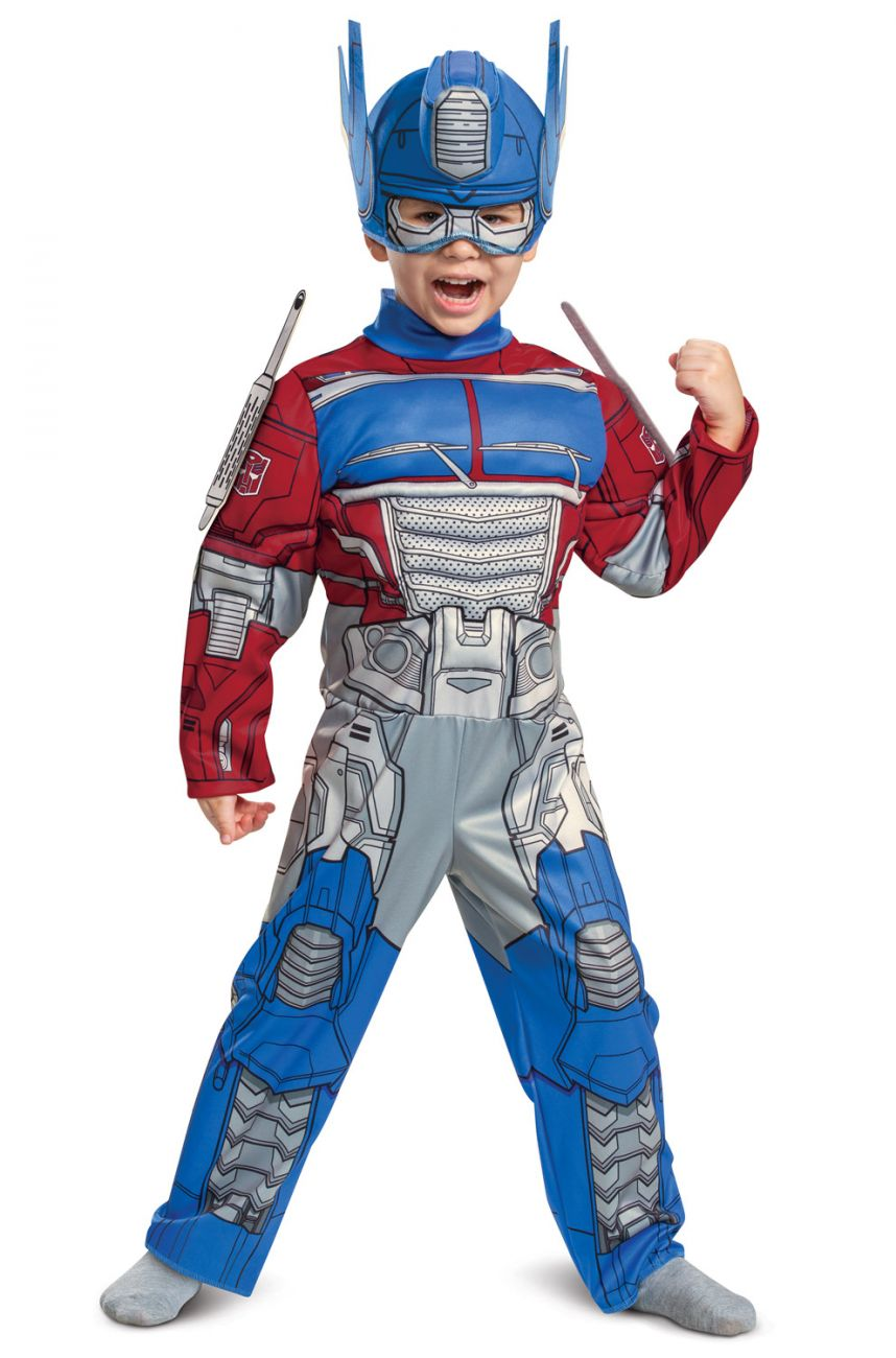 TRANSFORMERS DELUXE OPTIMUS PRIME COSTUME FOR BOYS