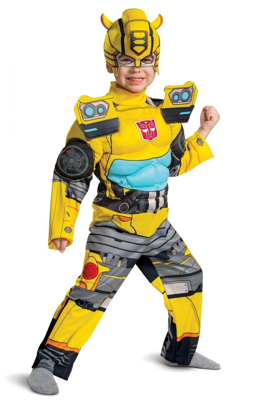 TRANSFORMERS DELUXE BUMBLEBEE COSTUME FOR BOYS