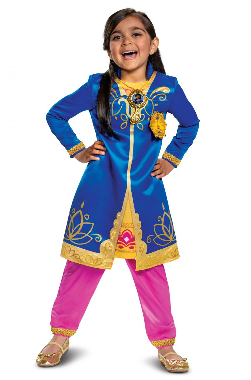 DELUXE MIRA ROYAL DETECTIVE COSTUME FOR GIRLS