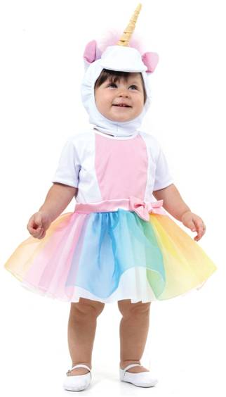 BABY UNICORN COSTUME FOR BABY GIRLS