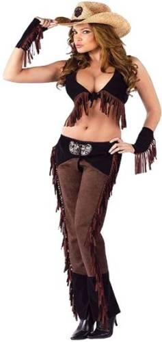 Карнавальный костюм девушки-ковбоя
