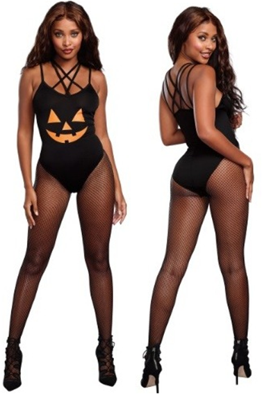 SEXY HALLOWEEN HOTTIE PUMPKIN COSTUME FOR WOMEN