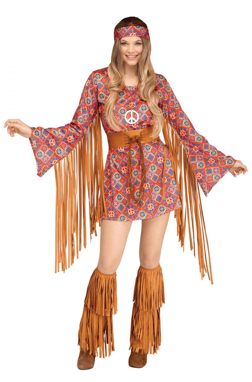 SEXY FREE SPIRIT HIPPIE COSTUME FOR WOMEN