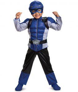 Robo Knight Power Rangers Megaforce Costume Boys size 7-8 Disguise 52854