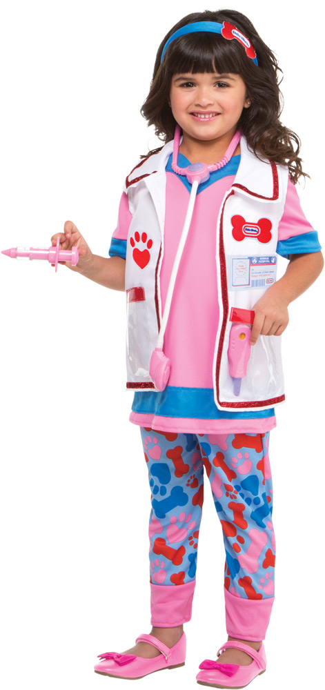 VETERINARIAN GIRL COSTUME FOR TODDLER GIRLS