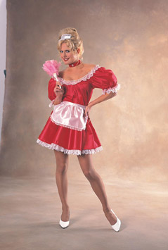 FRENCH MAID  RED