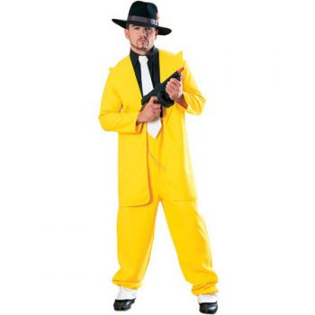 YELLOW ZOOT SUIT / THE MASK COSTUME FOR MEN