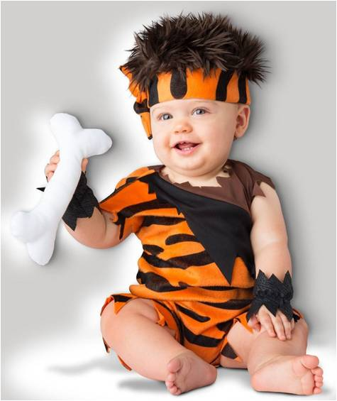 CAVEMAN CUTIE COSTUME FOR BABIES BOYS