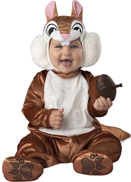 CHEEKY CHIPMUNK COSTUME FOR INFANT KIDS