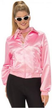 GREASE PINK LADIES JACKET FOR FULL FIGURE WOMEN