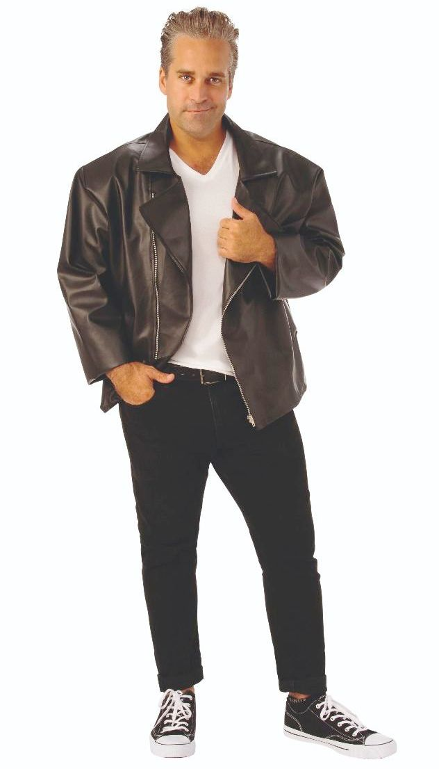 GREASE'S T-BIRD JACKET FOR PLUS SIZE MEN