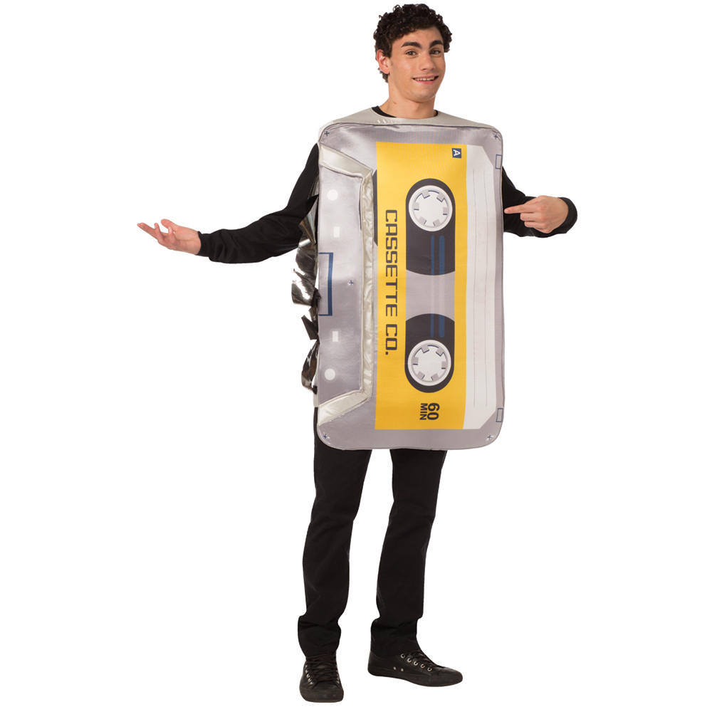 80s 90s MIX TAPE COSTUME FOR ADULTS