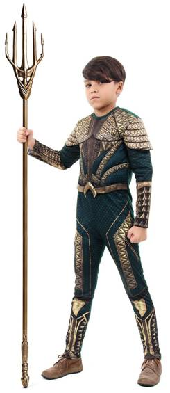 DELUXE AQUAMAN COSTUME FOR BOYS