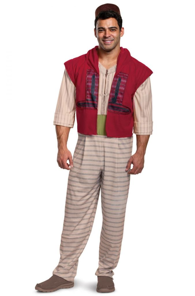 DISNEY'S DELUXE ALADDIN COSTUME FOR MEN