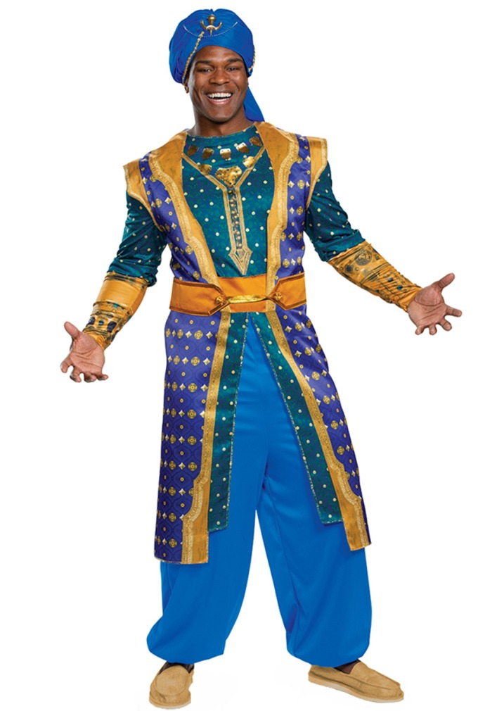 DISNEY'S ALADDIN'S DELUXE GENIE COSTUME FOR MEN