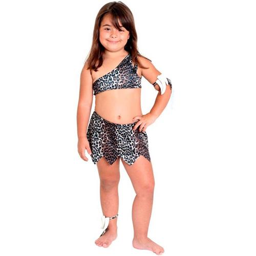 CAVE GIRL COSTUME FOR GIRLS
