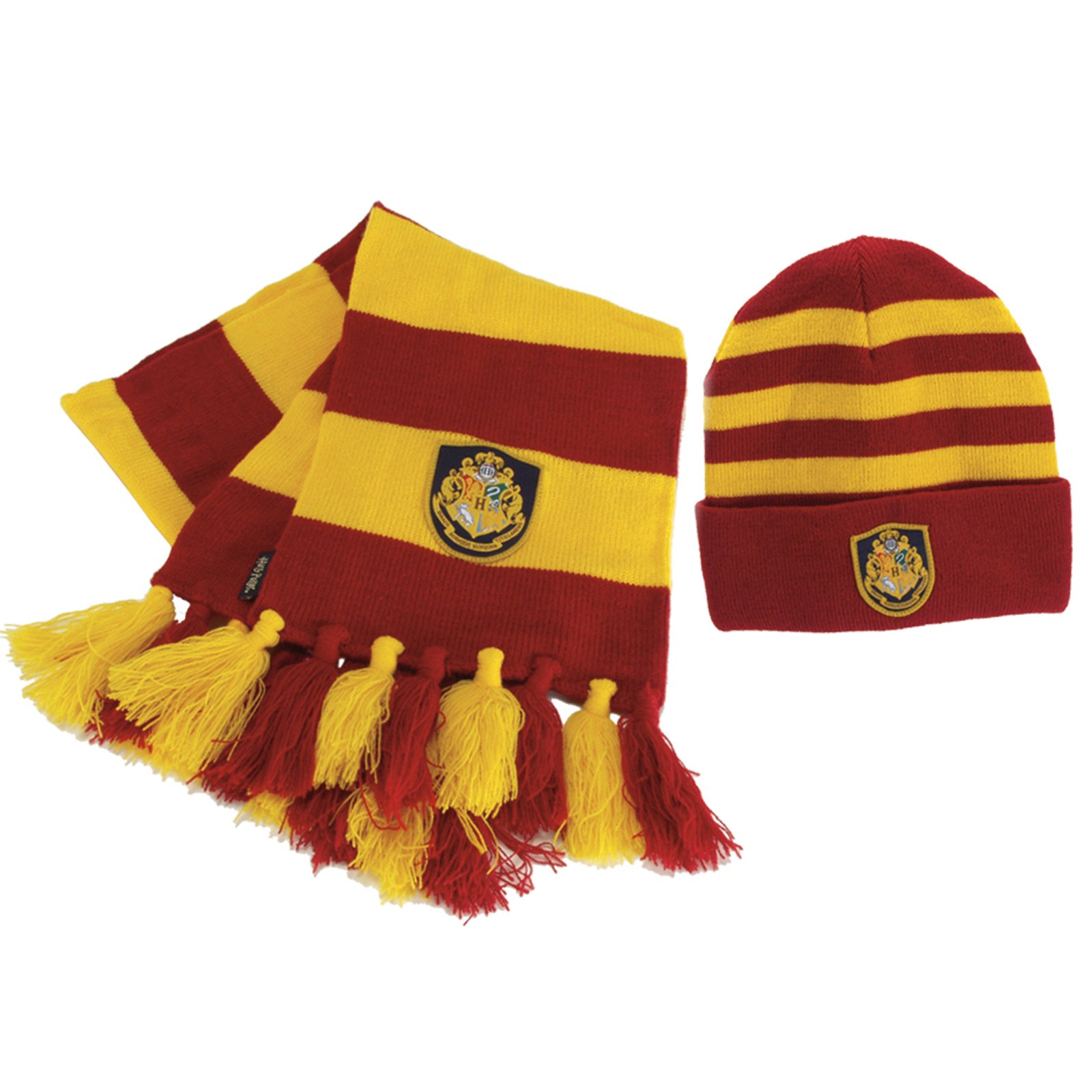 HARRY POTTER HOGWARTS KNIT SCARF AND HAT