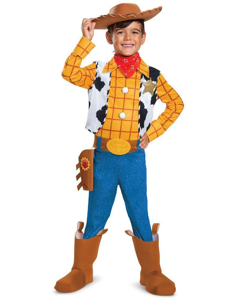 TOY STORY DELUXE WOODY COSTUME FOR BOYS