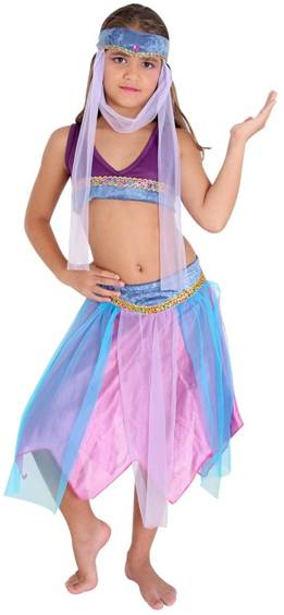 BELLY DANCER HAREM COSTUME FOR GIRLS