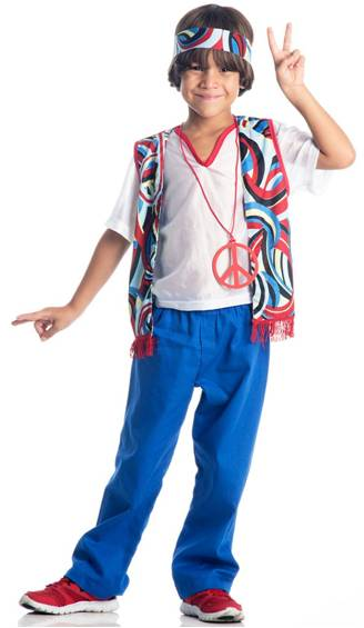 HIPPIE BOY COSTUME FOR BOYS