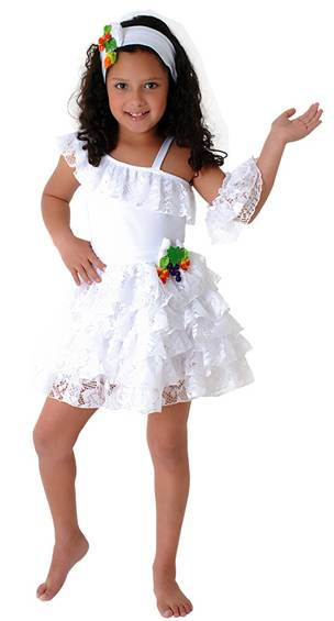 BALLET/RHUMBA/CUBAN COSTUME FOR GIRLS