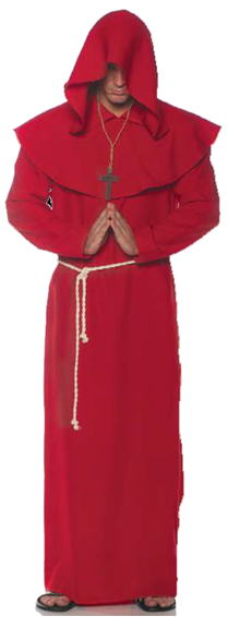 DELUXE RED MONK ROBE FOR MEN
