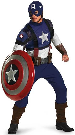 CAPTAIN AMERICA-THE FIRST AVENGER-PRESTIGE COSTUME