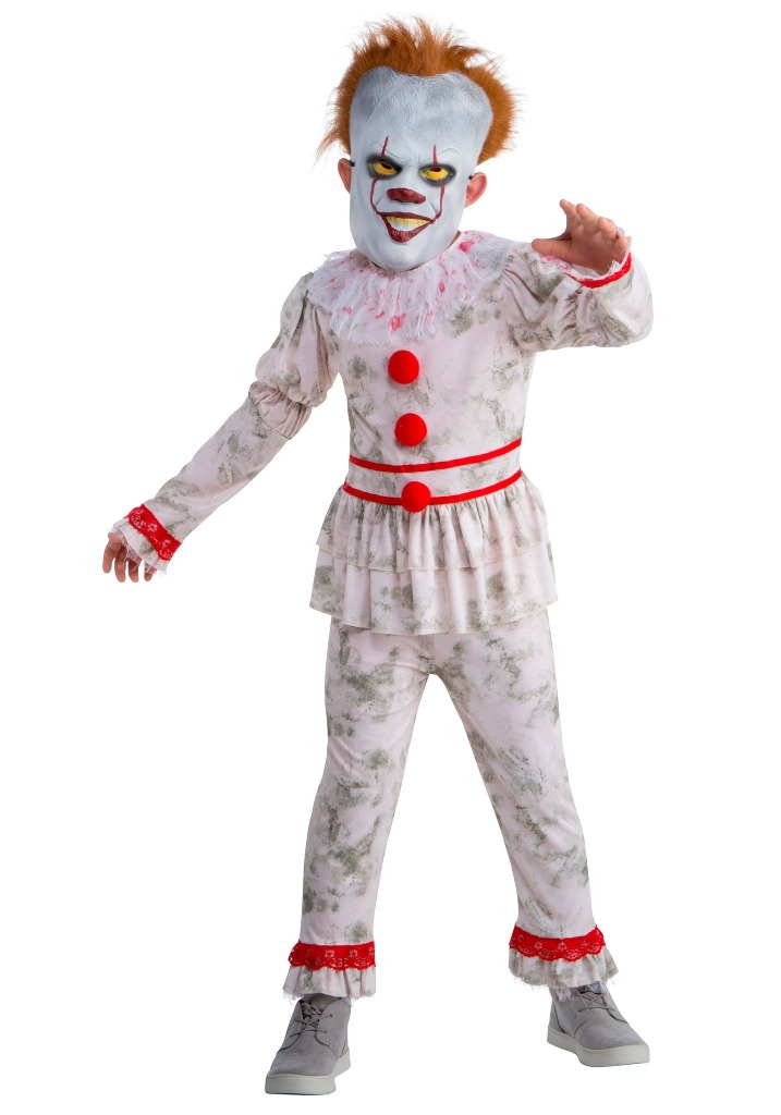 DANCING IT CLOWN COSTUME FOR BOYS