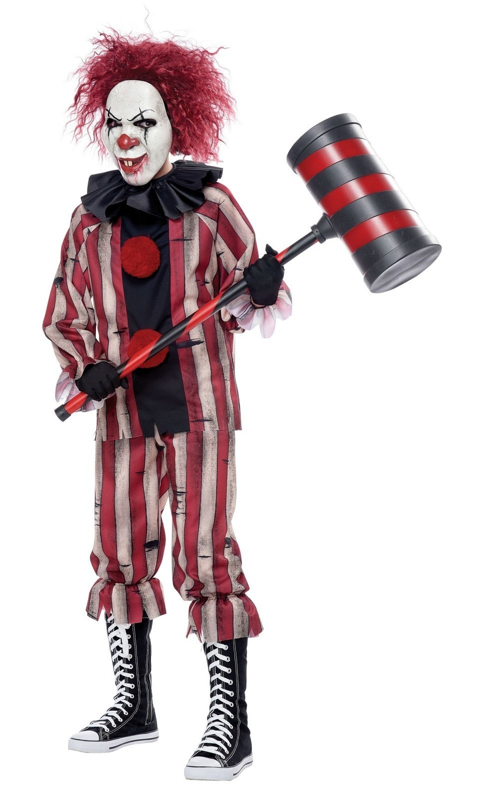 NIGHTMARE CLOWN SCARY CLOWN COSTUME FOR BOYS