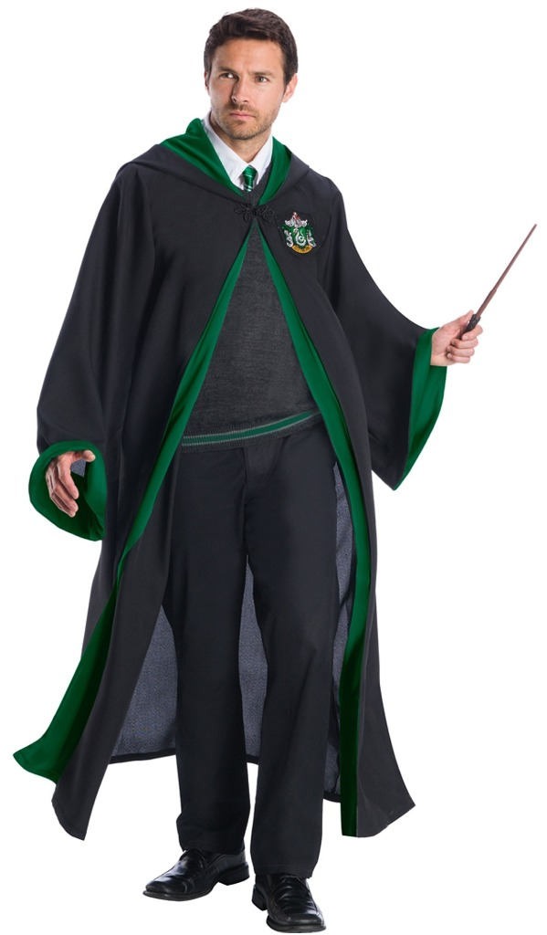 SUPREME EDITION SLYTHERIN COSTUME FOR ADULTS