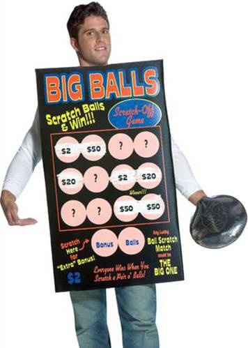 BIG BALLS SCRATCH OFF