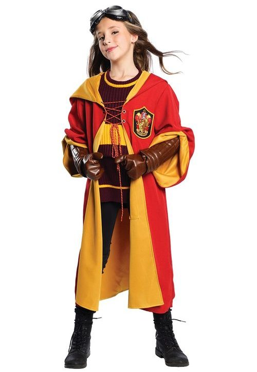 PREMIUM HARRY POTTER QUIDDITCH OUTFIT FOR KIDS