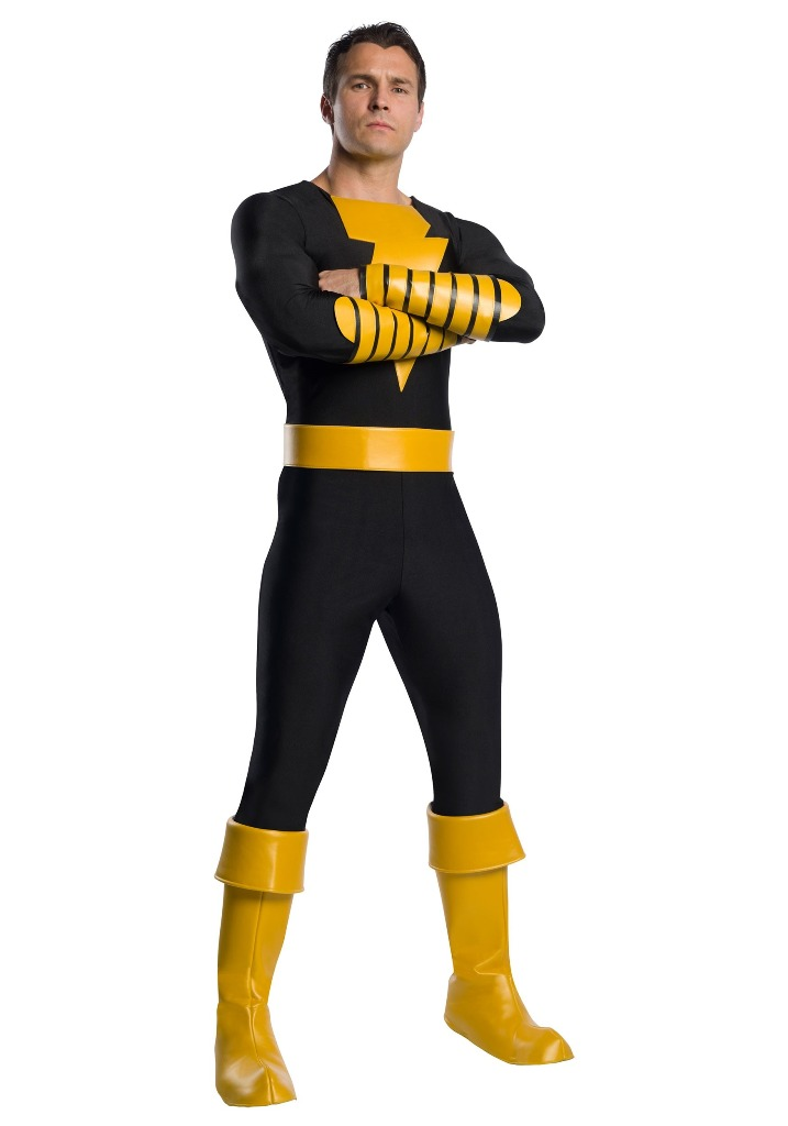 PRESTIGE BLACK ADAM COSTUME FOR MEN