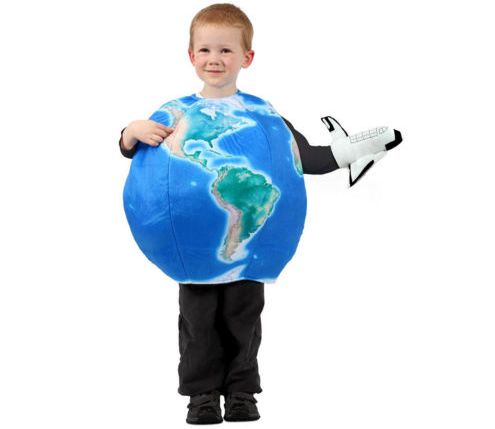 EARTH IN SPACE COSTUME FOR KIDS