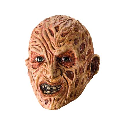 FREDDY KRUEGER 3/4 VINYL MASK FOR ADULTS