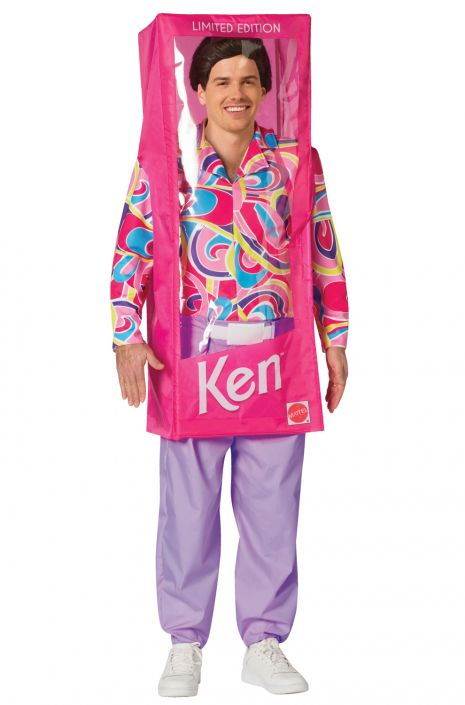 BARBIE'S KEN DOLL BOX COSTUME FOR MEN