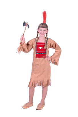 RUNNING BROOK INDIAN GIRL