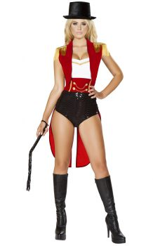 SEXY LION TAMER COSTUME FOR WOMEN