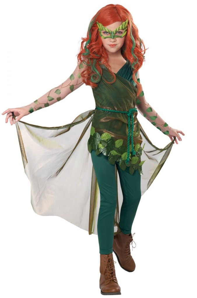 PRETTY POISON IVY COSTUME FOR GIRLS