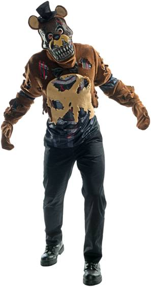 5 NIGHTS AT FREDDY'S NIGHTMARE FREDDY TEEN COSTUME