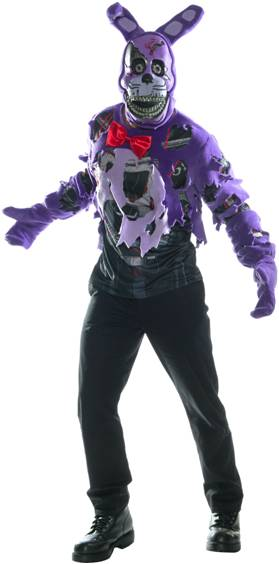 5 NIGHTS AT FREDDY'S NIGHTMARE BONNIE TEEN COSTUME