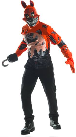 5 NIGHTS AT FREDDY'S NIGHTMARE FOXY TEEN COSTUME