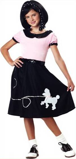 50s HOP WITH POODLE SKIRT