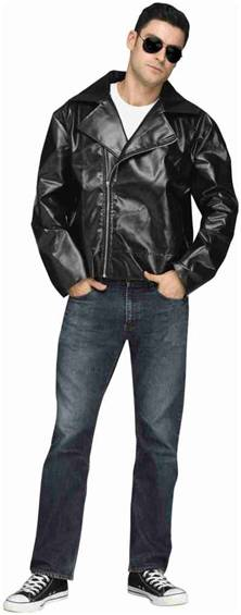 50s BIKER GREASER JACKET FOR MEN