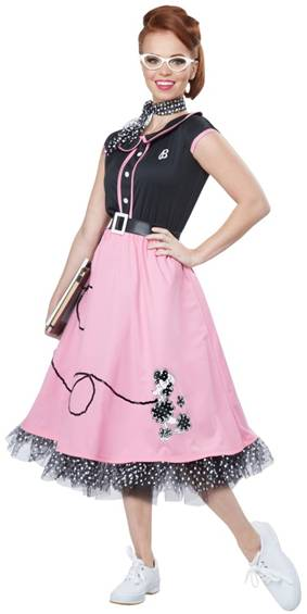50s SWEETHEART COSTUME FOR WOMEN