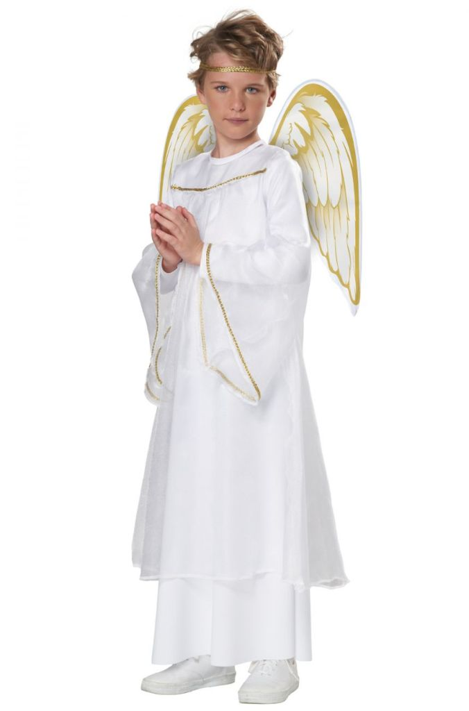 UNISEX HOLIDAY ANGEL COSTUME FOR KIDS