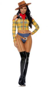SEXY PLAYTIME SHERIFF COSTUME FOR WOMEN