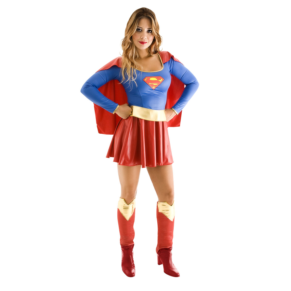 CLASSIC SUPERGIRL COSTUME FOR WOMEN