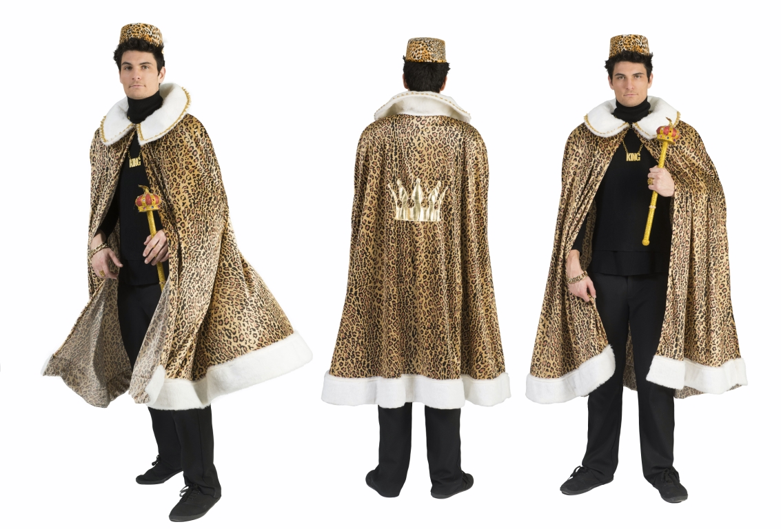 AFRICAN KING CAPE FOR ADULTS